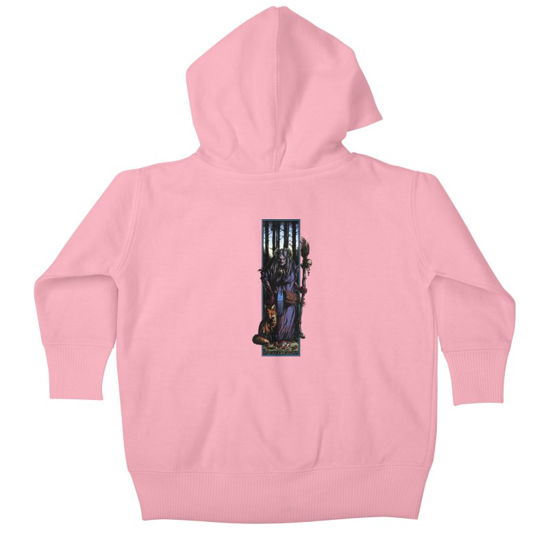 The Watcher Kids Baby Zip-Up Hoody by Ambrose H.H.'s Artist Shop