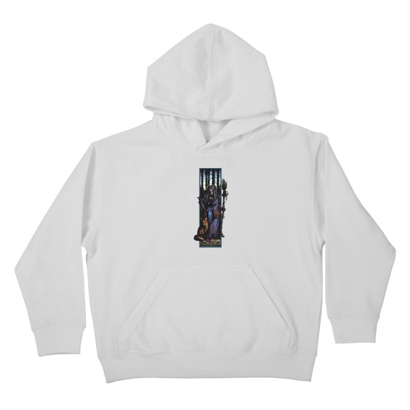 The Watcher Kids Pullover Hoody by Ambrose H.H.'s Artist Shop