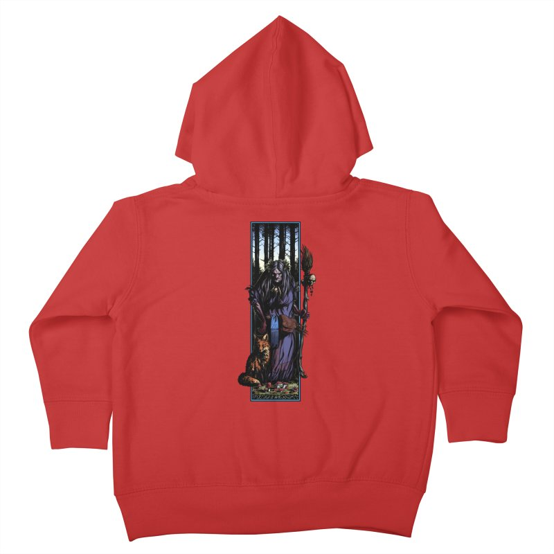 The Watcher Kids Toddler Zip-Up Hoody by Ambrose H.H.'s Artist Shop