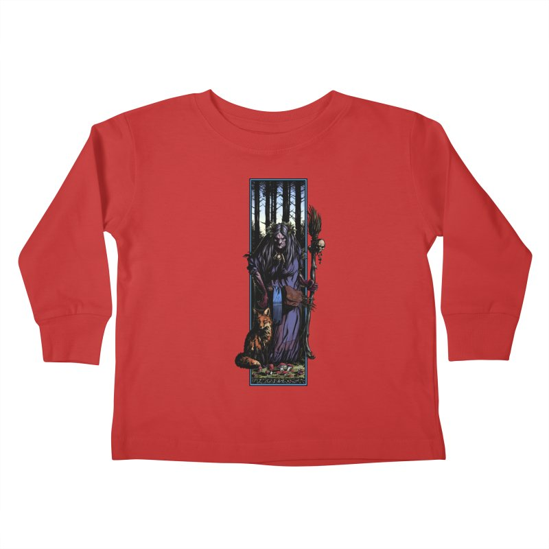 The Watcher Kids Toddler Longsleeve T-Shirt by Ambrose H.H.'s Artist Shop