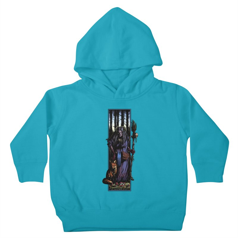 The Watcher Kids Toddler Pullover Hoody by Ambrose H.H.'s Artist Shop