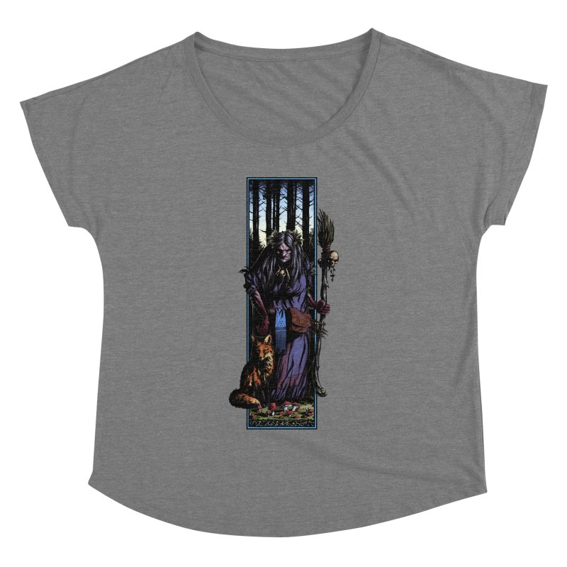 The Watcher Women's Scoop Neck by Ambrose H.H.'s Artist Shop