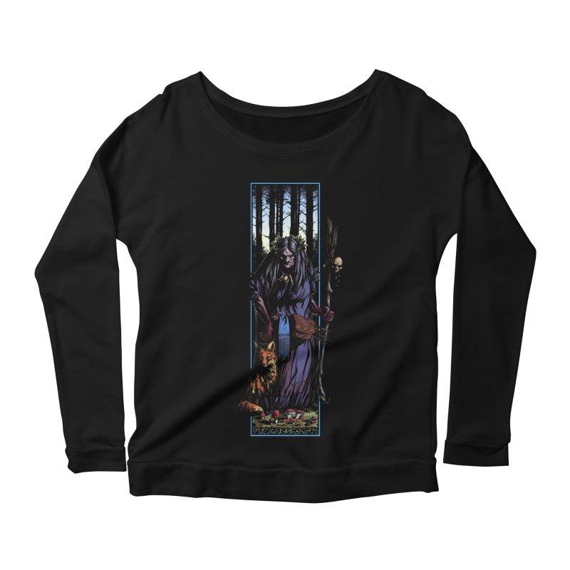 The Watcher Women's Scoop Neck Longsleeve T-Shirt by Ambrose H.H.'s Artist Shop