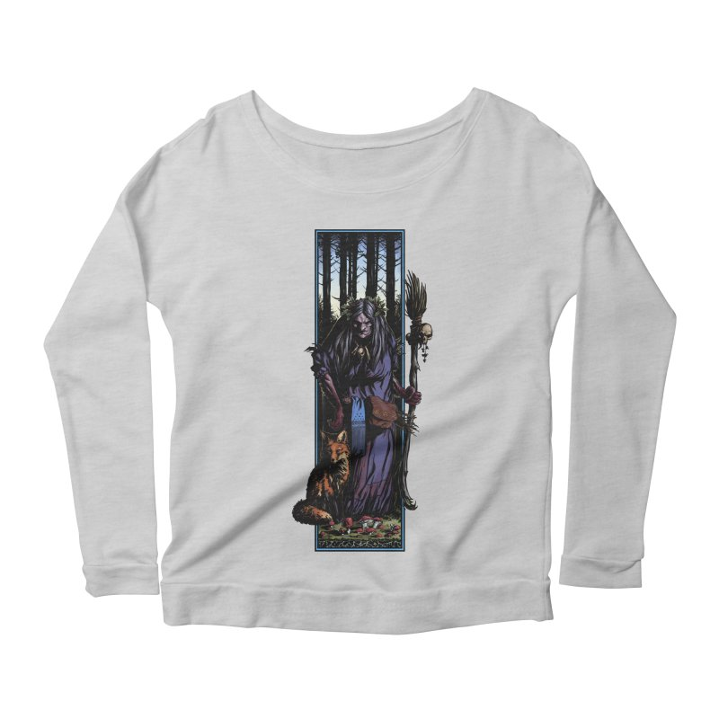 The Watcher Women's Scoop Neck Longsleeve T-Shirt by Ambrose H.H.'s Artist Shop