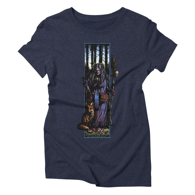 The Watcher Women's Triblend T-Shirt by Ambrose H.H.'s Artist Shop