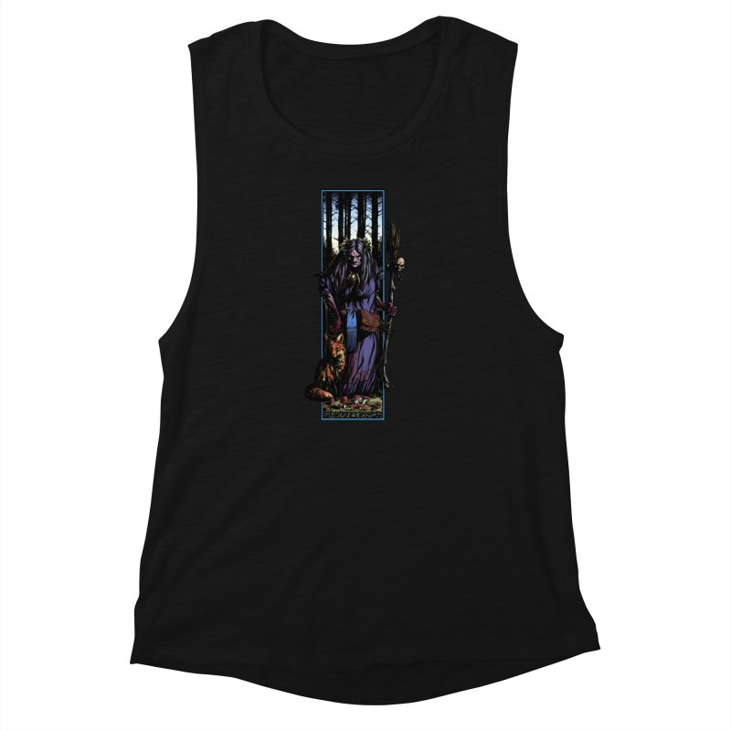 The Watcher Women's Muscle Tank by Ambrose H.H.'s Artist Shop