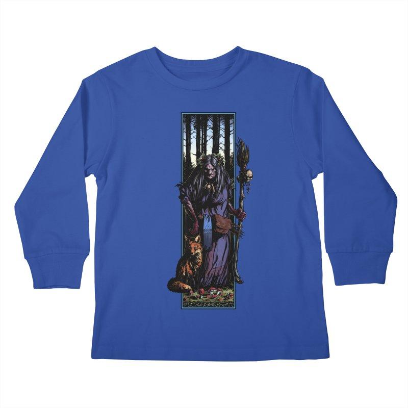 The Watcher Kids Longsleeve T-Shirt by Ambrose H.H.'s Artist Shop