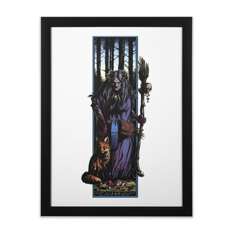 The Watcher Home Framed Fine Art Print by Ambrose H.H.'s Artist Shop