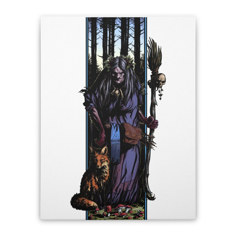The Watcher Home Stretched Canvas by Ambrose H.H.'s Artist Shop