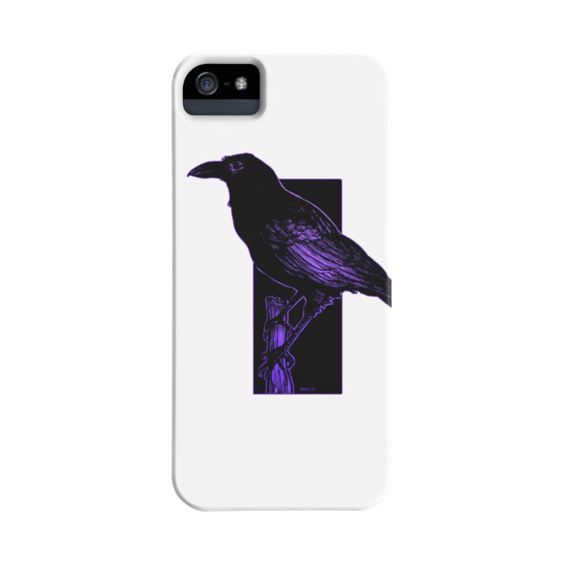 Crow Accessories Phone Case by Ambrose H.H.'s Artist Shop