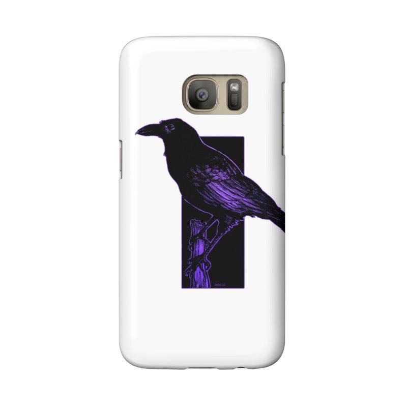 Crow Accessories Phone Case by Ambrose H.H.'s Artist Shop
