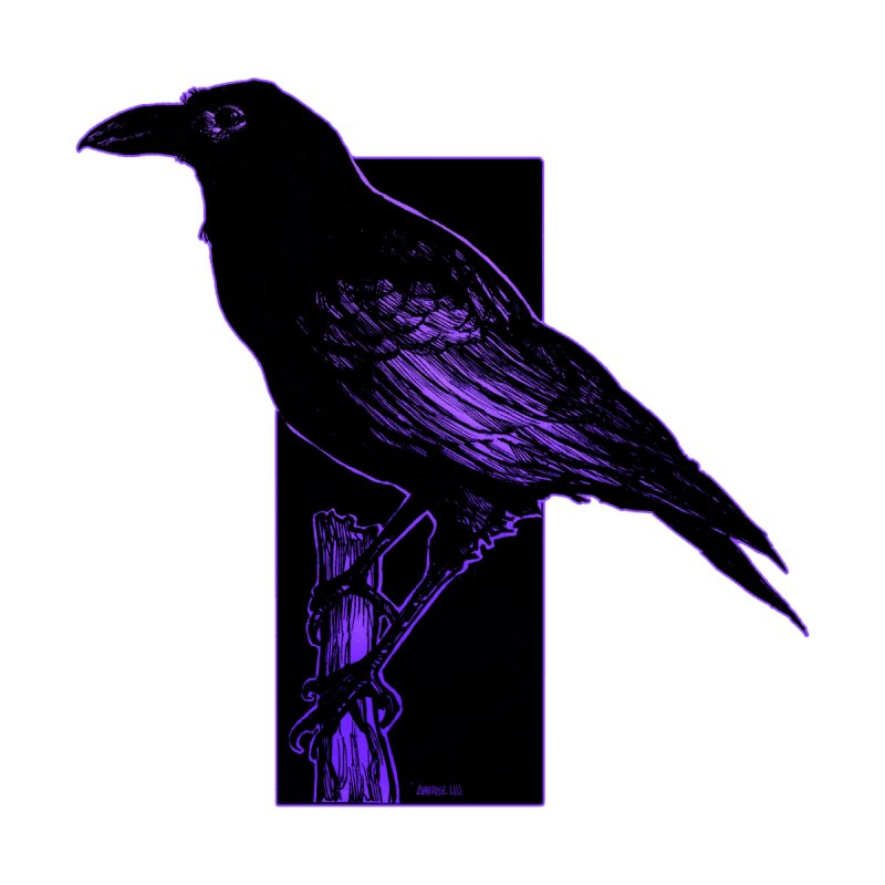 Crow Accessories Sticker by Ambrose H.H.'s Artist Shop