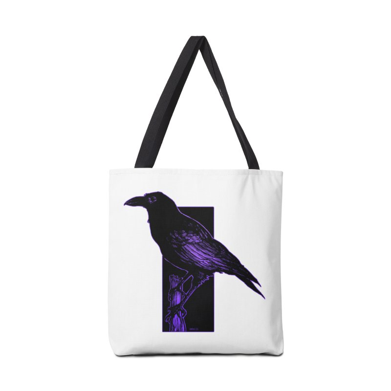 Crow Accessories Bag by Ambrose H.H.'s Artist Shop