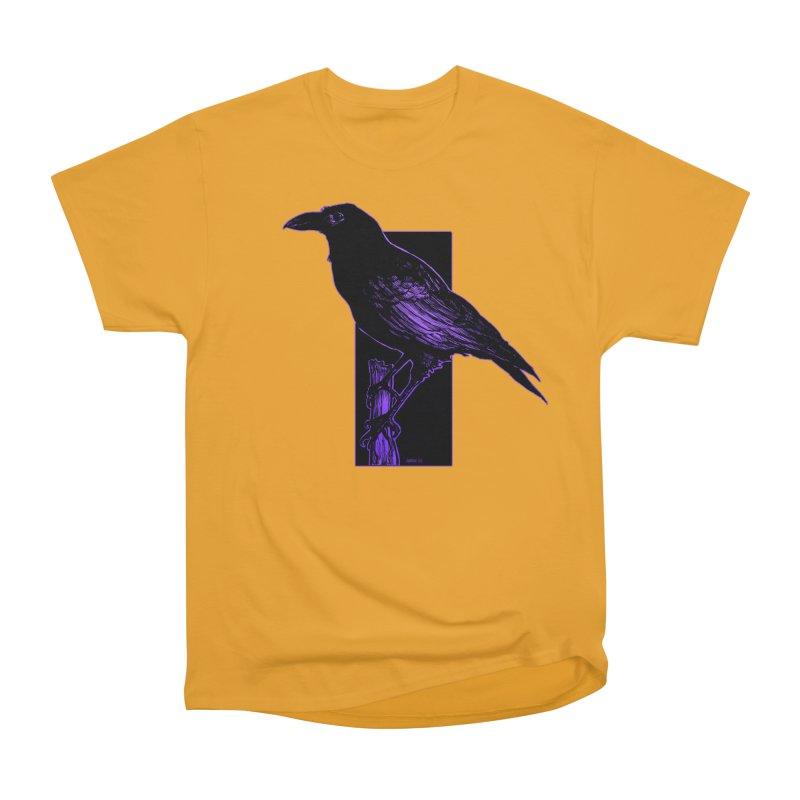 Crow Women's Heavyweight Unisex T-Shirt by Ambrose H.H.'s Artist Shop