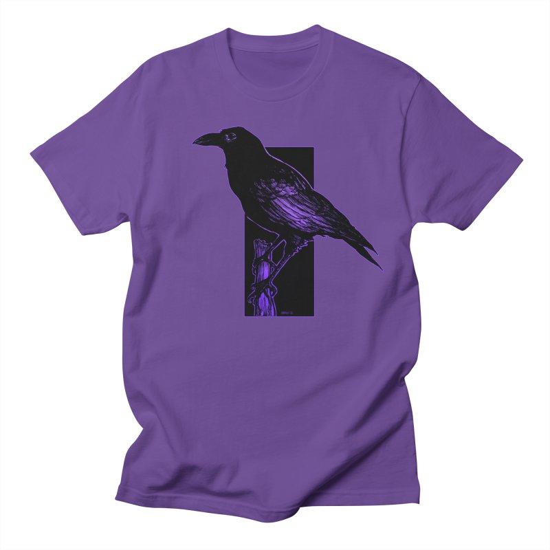 Crow Men's Regular T-Shirt by Ambrose H.H.'s Artist Shop