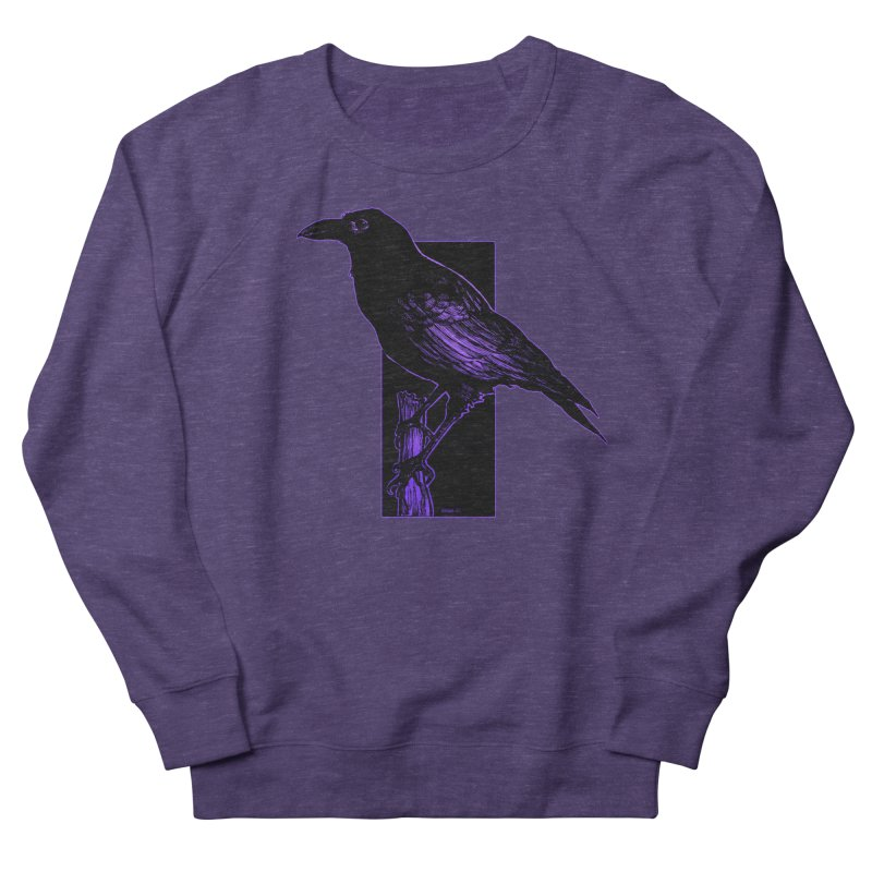 Crow Women's French Terry Sweatshirt by Ambrose H.H.'s Artist Shop