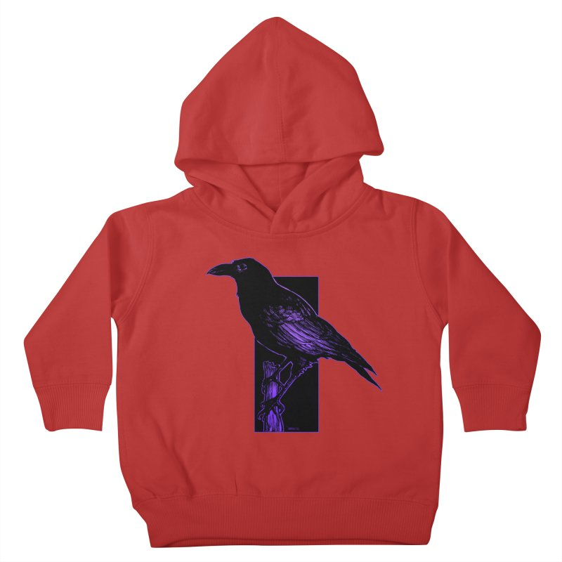 Crow Kids Toddler Pullover Hoody by Ambrose H.H.'s Artist Shop