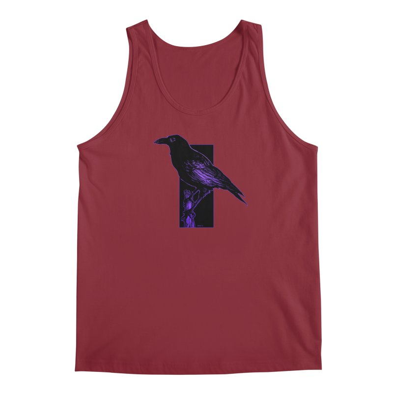 Crow Men's Regular Tank by Ambrose H.H.'s Artist Shop