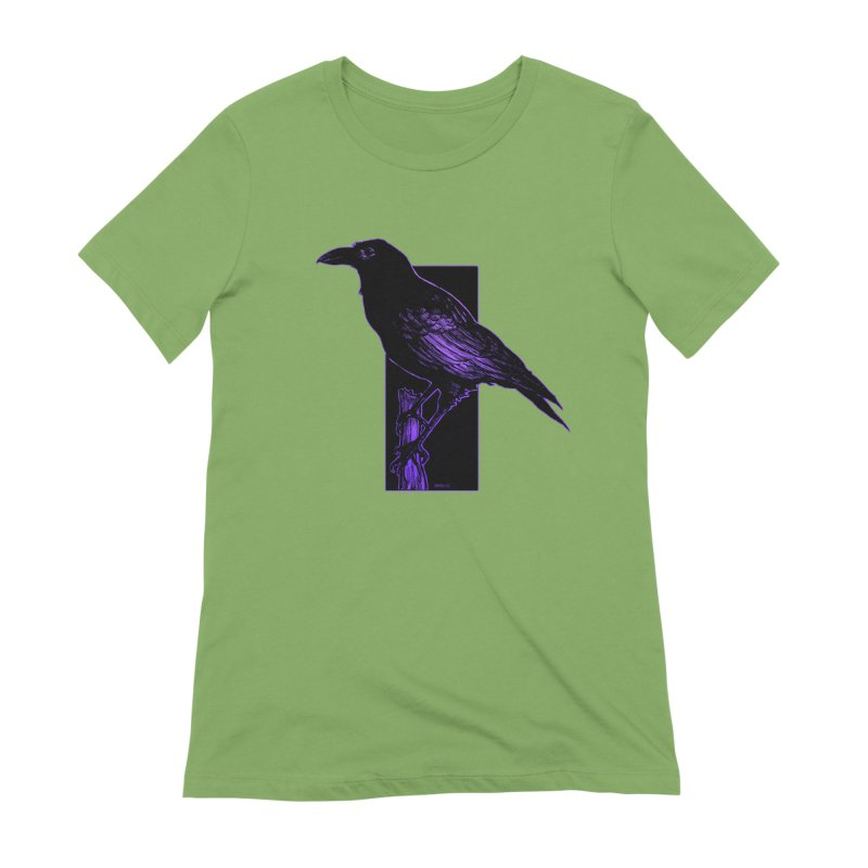 Crow Women's Extra Soft T-Shirt by Ambrose H.H.'s Artist Shop