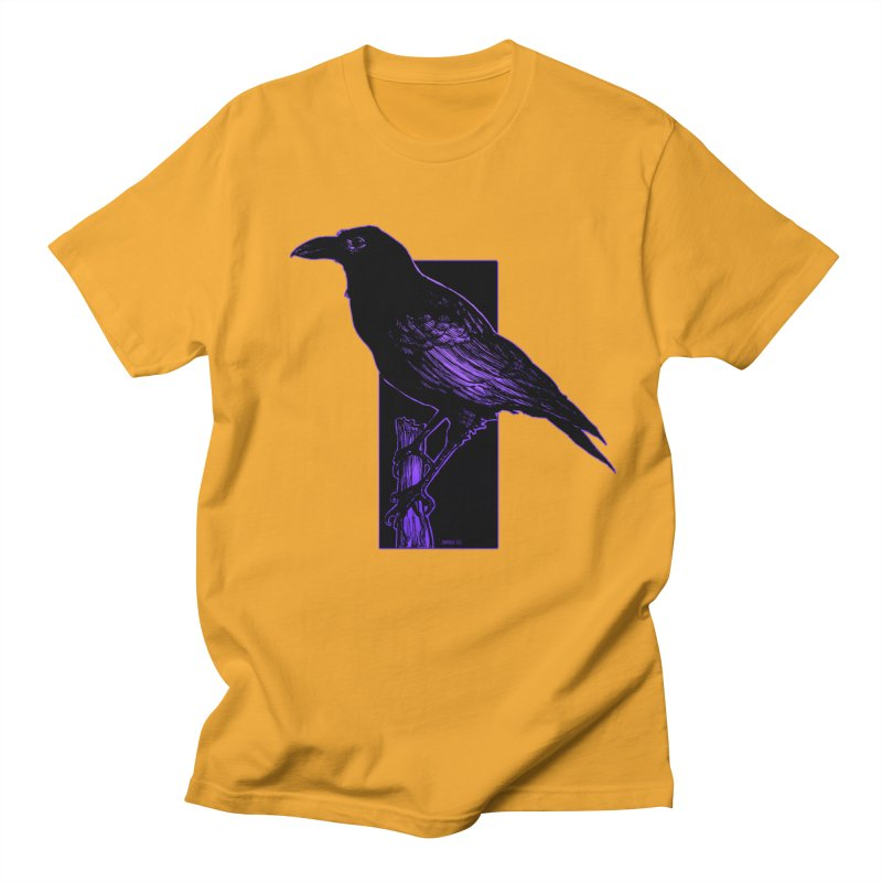 Crow Men's T-Shirt by Ambrose H.H.'s Artist Shop