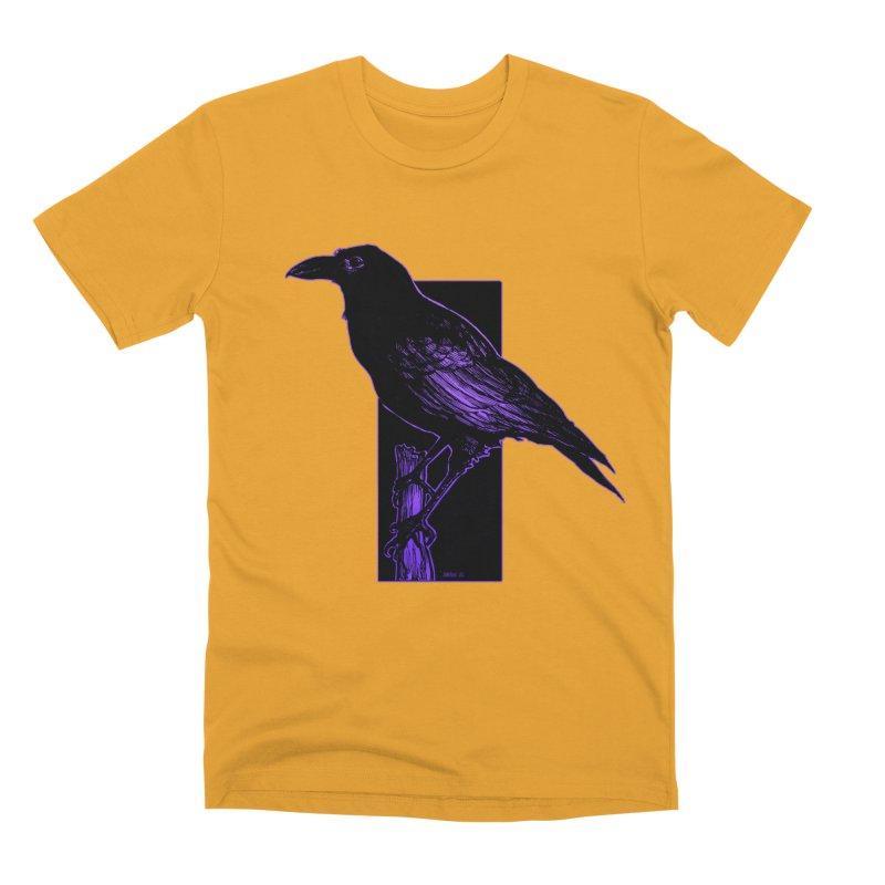 Crow Men's Premium T-Shirt by Ambrose H.H.'s Artist Shop