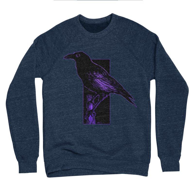 Crow Men's Sponge Fleece Sweatshirt by Ambrose H.H.'s Artist Shop