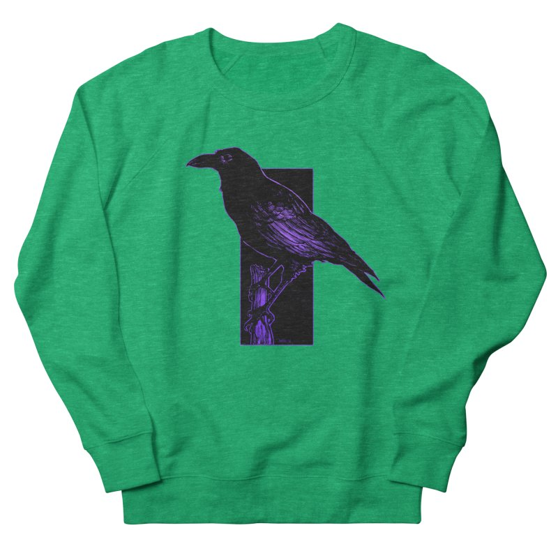Crow Women's Sweatshirt by Ambrose H.H.'s Artist Shop