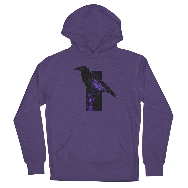 Crow Men's Pullover Hoody by Ambrose H.H.'s Artist Shop