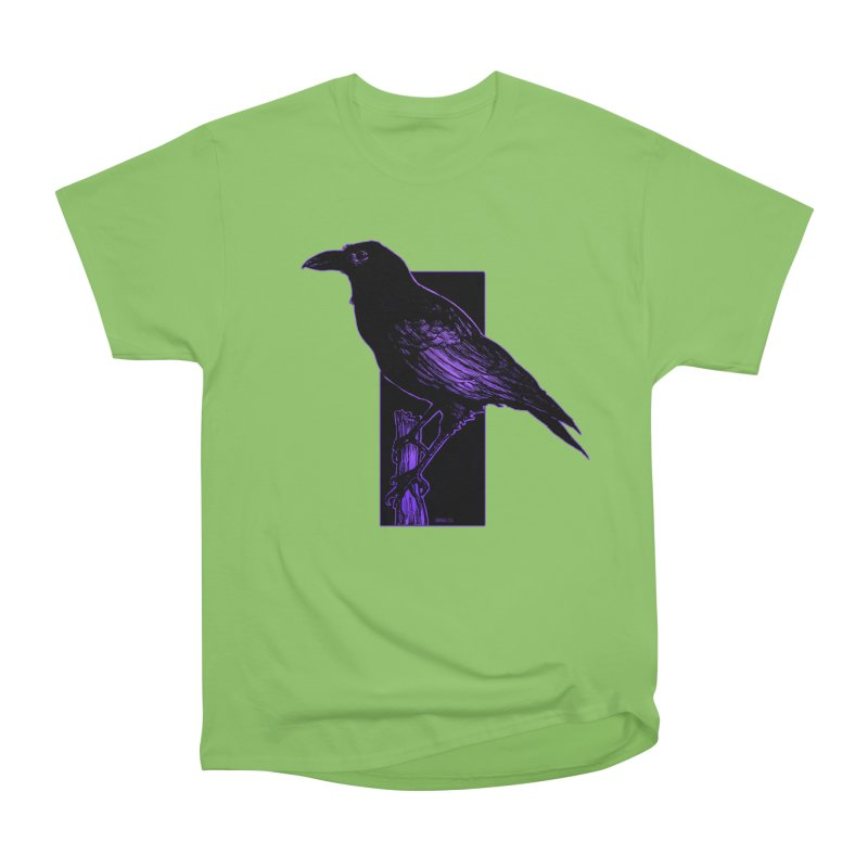 Crow Women's Heavyweight Unisex T-Shirt by Ambrose H.H.'s Artist Shop