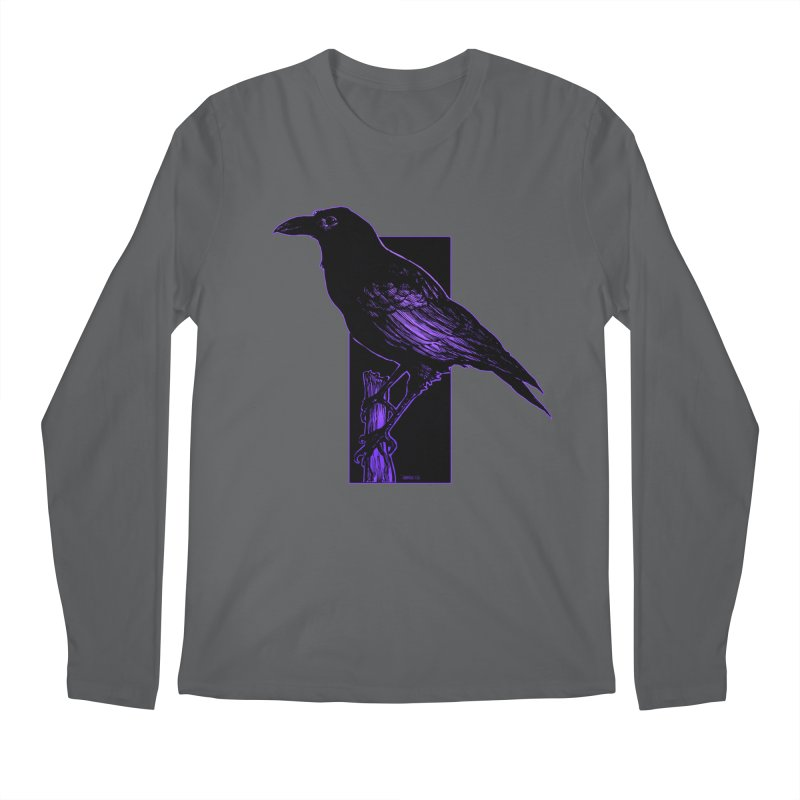 Crow Men's Longsleeve T-Shirt by Ambrose H.H.'s Artist Shop