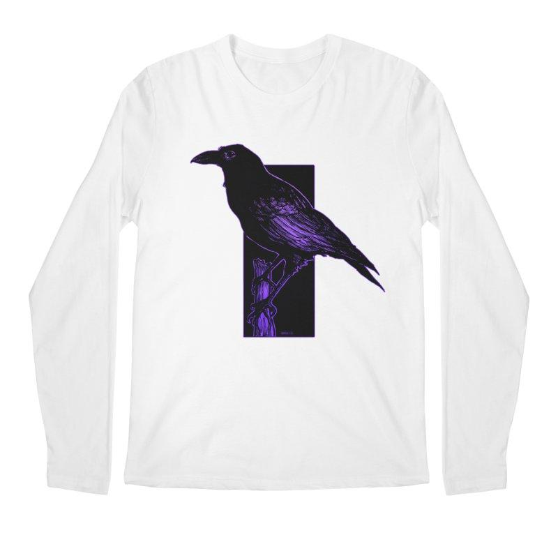 Crow Men's Longsleeve T-Shirt by Ambrose H.H.'s Artist Shop