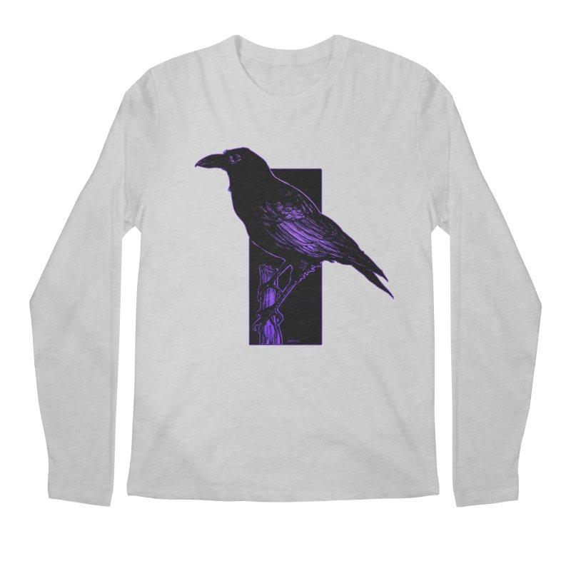 Crow Men's Regular Longsleeve T-Shirt by Ambrose H.H.'s Artist Shop