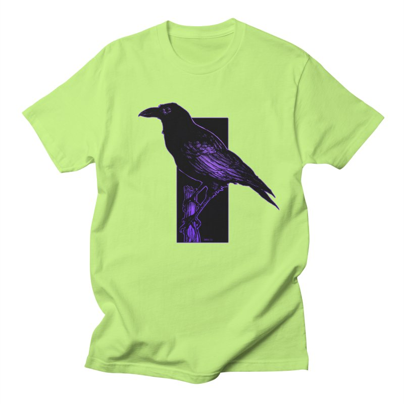 Crow Men's T-Shirt by Ambrose H.H.'s Artist Shop