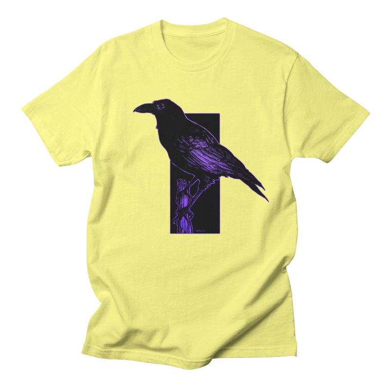 Crow Men's Regular T-Shirt by Ambrose H.H.'s Artist Shop