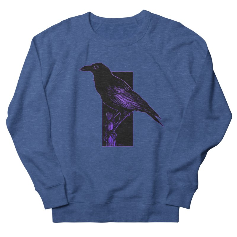 Crow Men's Sweatshirt by Ambrose H.H.'s Artist Shop