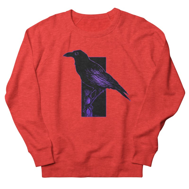 Crow Men's Sweatshirt by Ambrose H.H.'s Artist Shop