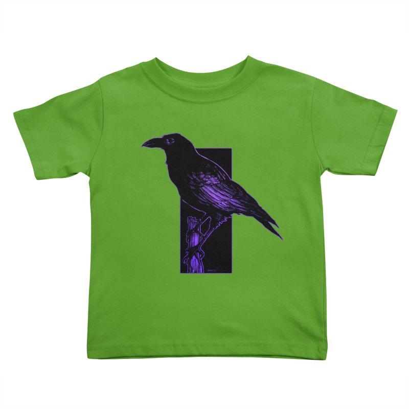Crow Kids Toddler T-Shirt by Ambrose H.H.'s Artist Shop