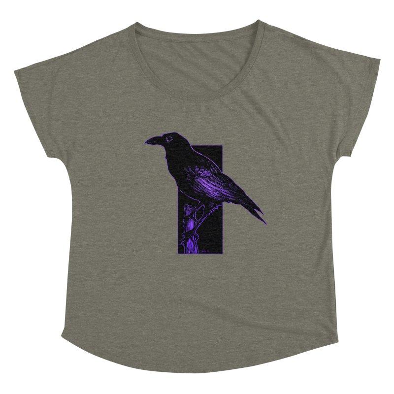 Crow Women's Scoop Neck by Ambrose H.H.'s Artist Shop