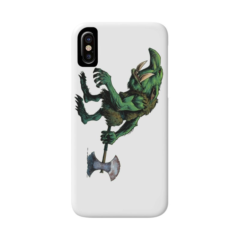 Goblin Accessories Phone Case by Ambrose H.H.'s Artist Shop