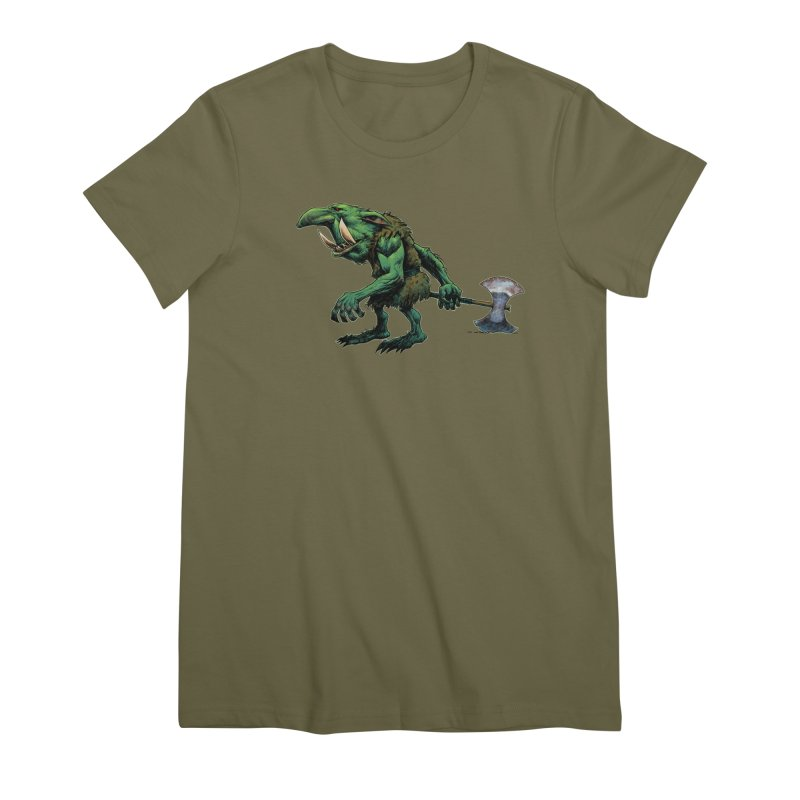 Goblin Women's T-Shirt by Ambrose H.H.'s Artist Shop