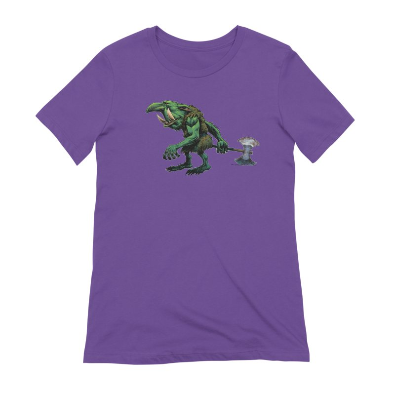 Goblin Women's Extra Soft T-Shirt by Ambrose H.H.'s Artist Shop