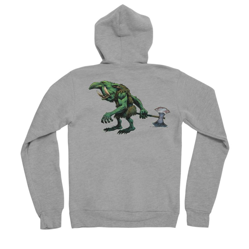 Goblin Women's Zip-Up Hoody by Ambrose H.H.'s Artist Shop