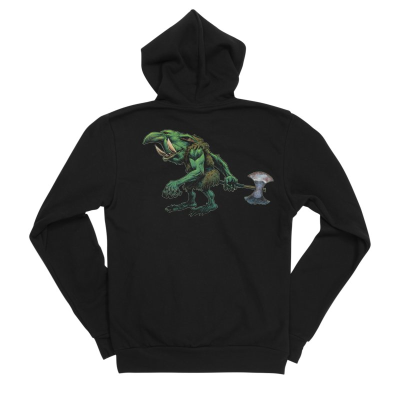Goblin Men's Sponge Fleece Zip-Up Hoody by Ambrose H.H.'s Artist Shop
