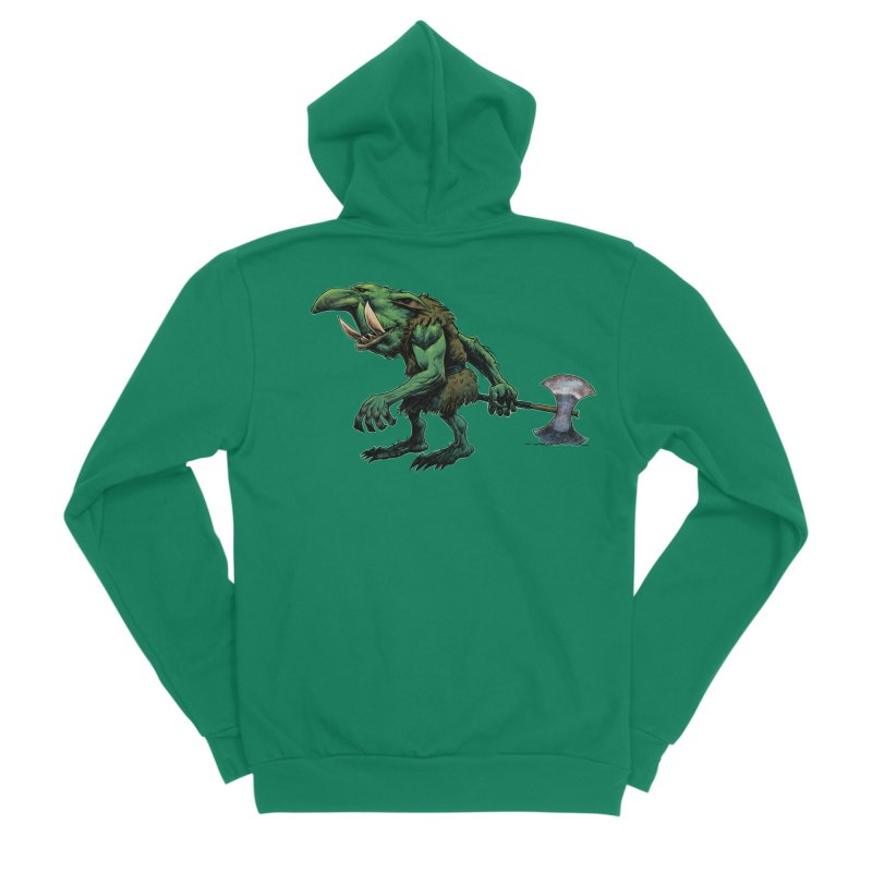 Goblin Men's Zip-Up Hoody by Ambrose H.H.'s Artist Shop