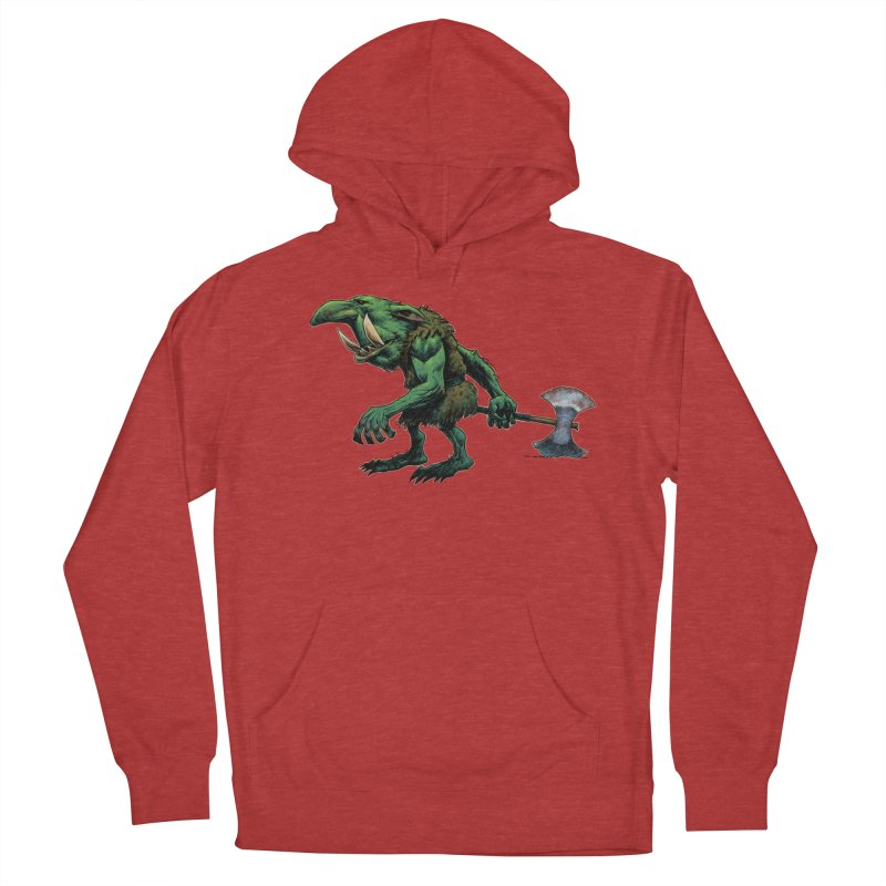 Goblin Women's French Terry Pullover Hoody by Ambrose H.H.'s Artist Shop
