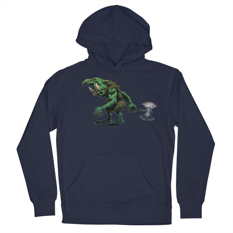 Goblin Men's French Terry Pullover Hoody by Ambrose H.H.'s Artist Shop