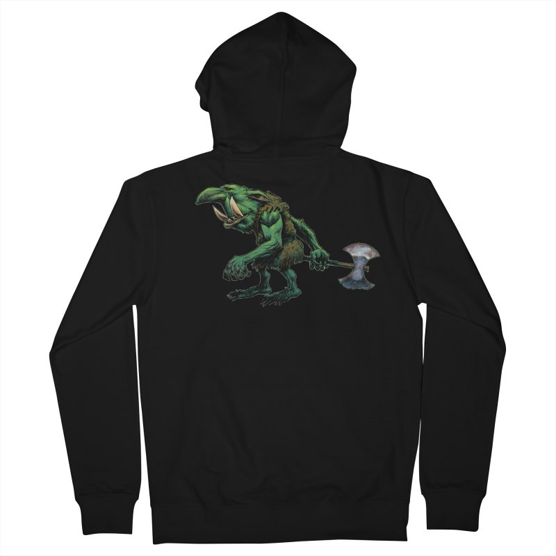 Goblin Women's French Terry Zip-Up Hoody by Ambrose H.H.'s Artist Shop