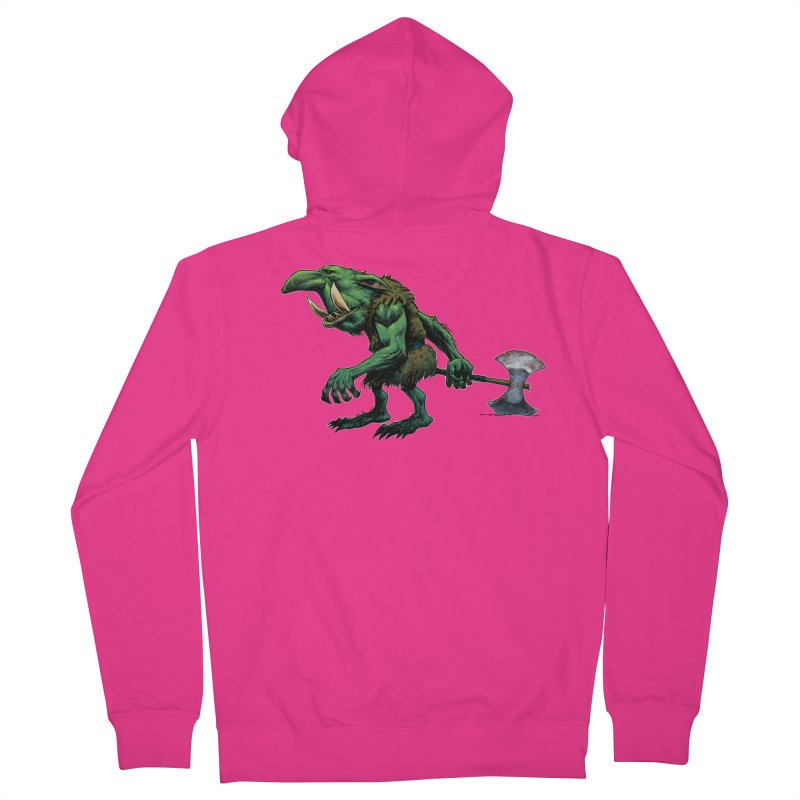 Goblin Men's French Terry Zip-Up Hoody by Ambrose H.H.'s Artist Shop