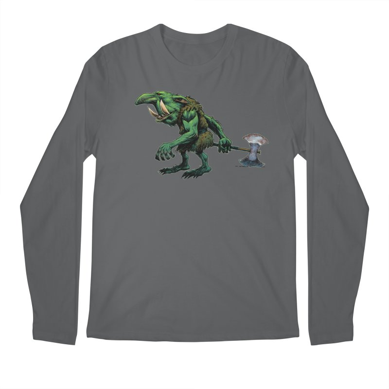 Goblin Men's Longsleeve T-Shirt by Ambrose H.H.'s Artist Shop