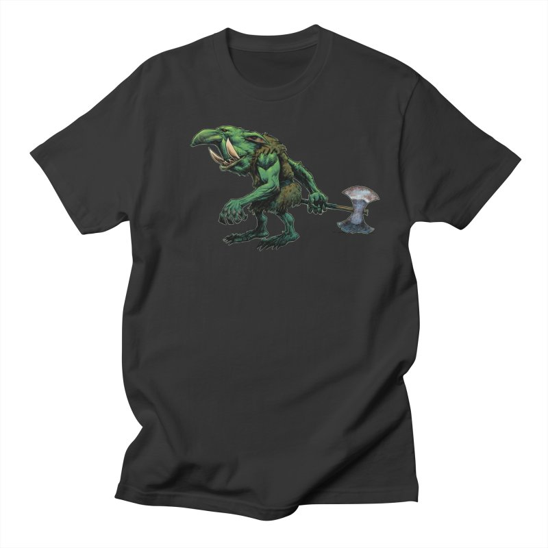 Goblin Women's Regular Unisex T-Shirt by Ambrose H.H.'s Artist Shop